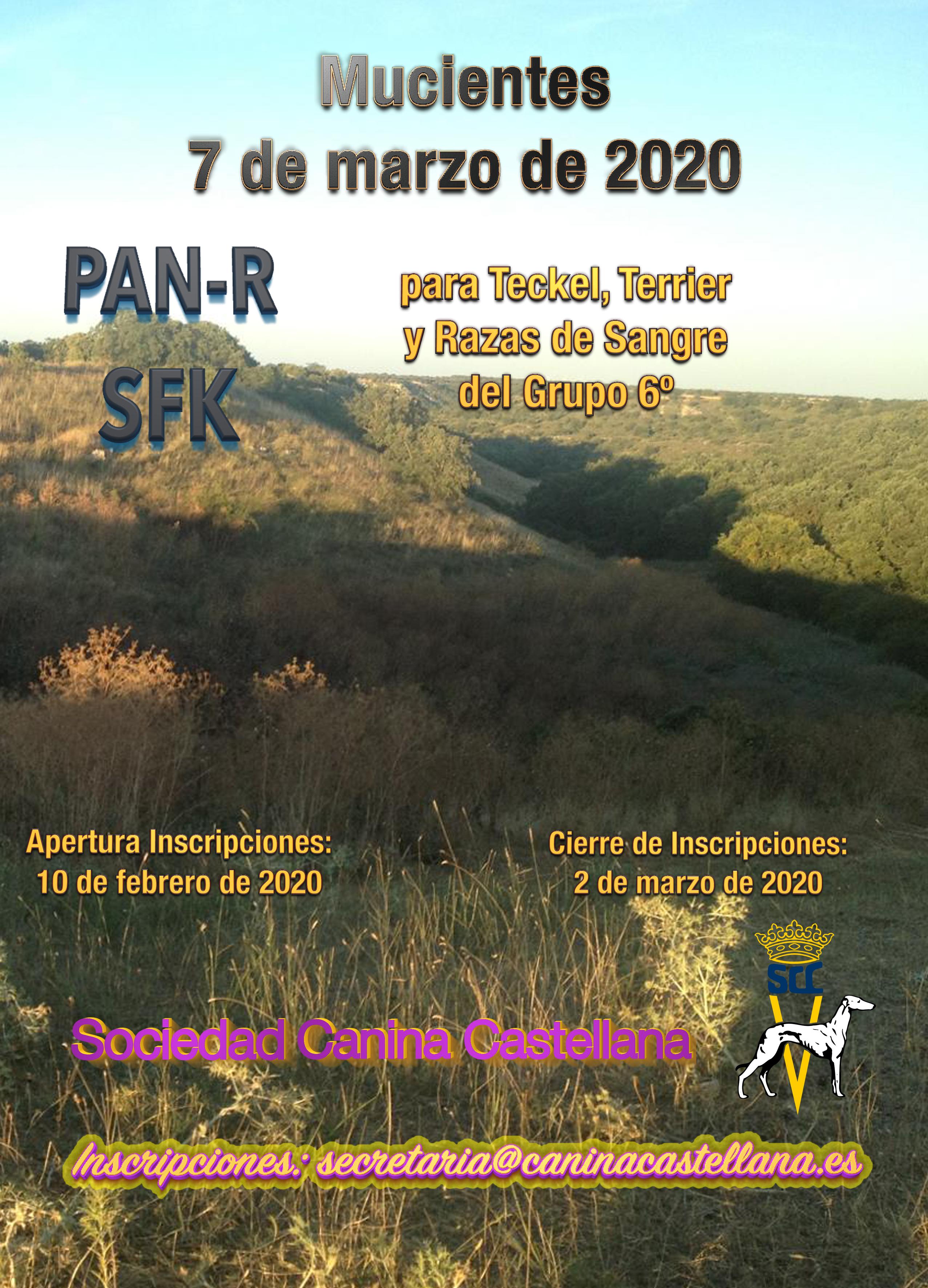 PRUEBAS DE CAMPO PAN-R Y Sfk